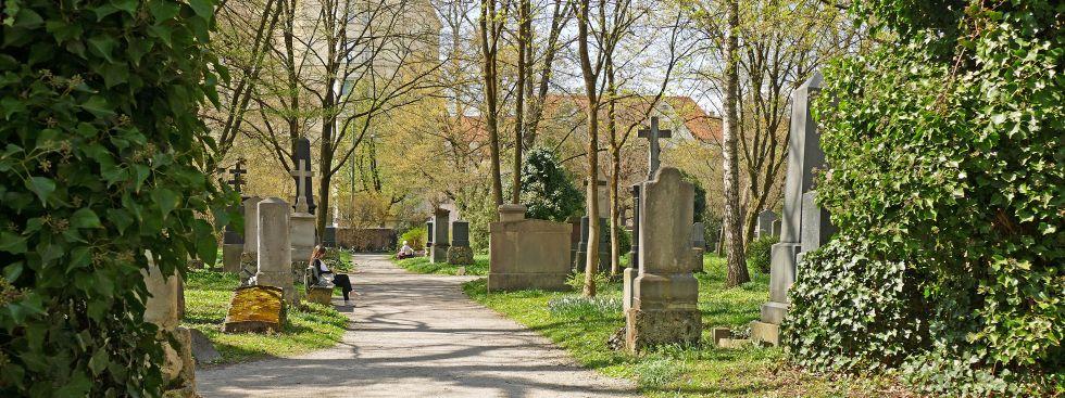 Alter Südlicher Friedhof in München, Foto: muenchen.de / Leonie Liebich