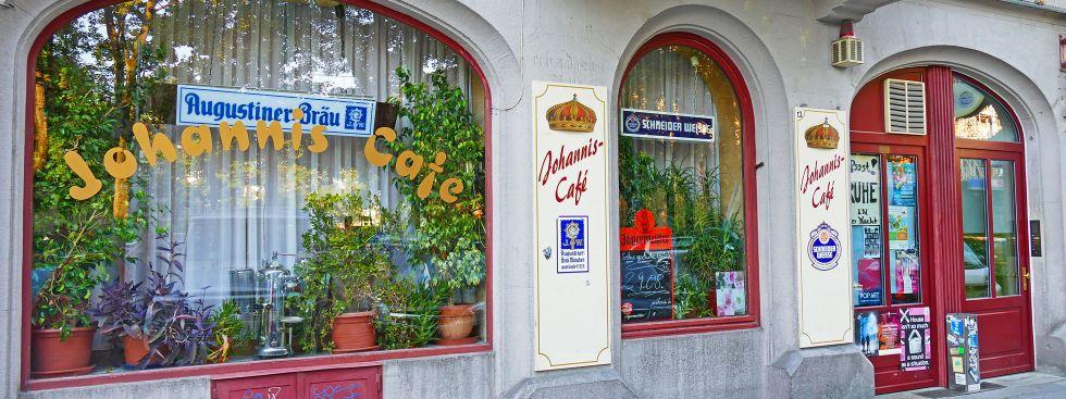 Das Johanniscafé, Foto: muenchen.de/Leonie Liebich