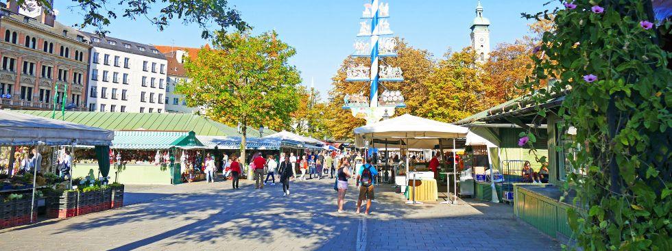 Viktualienmarkt, Foto: muenchen.de/Leonie Liebich