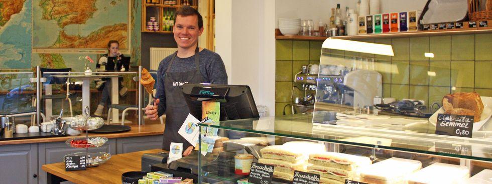 Café Colombo im Westend, Foto: muenchen.de/Leonie Liebich