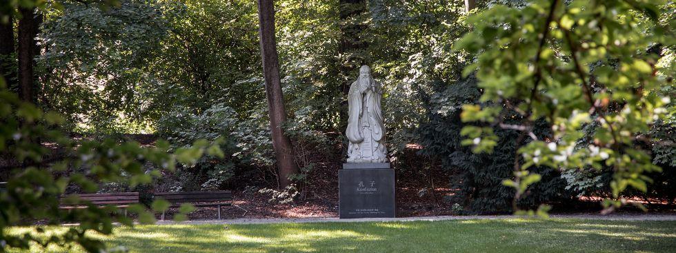 Der Dichtergarten in München, Foto: muenchen.de/ Mónica Garduño