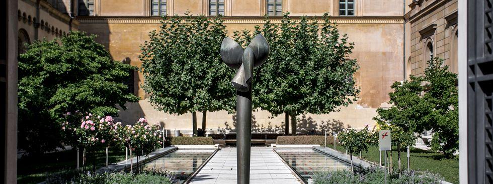 Der Kabinettsgarten der Residenz, Foto: muenchen.de/ Mónica Garduño