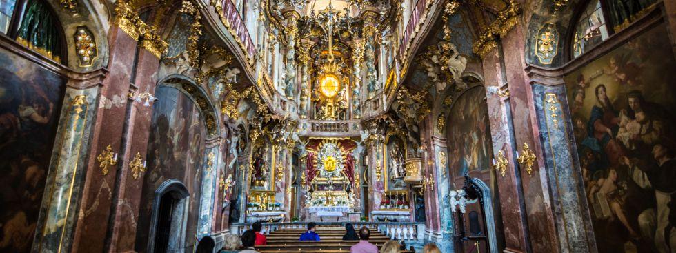 Asamkirche, Foto: muenchen.de/ Michael Hofmann