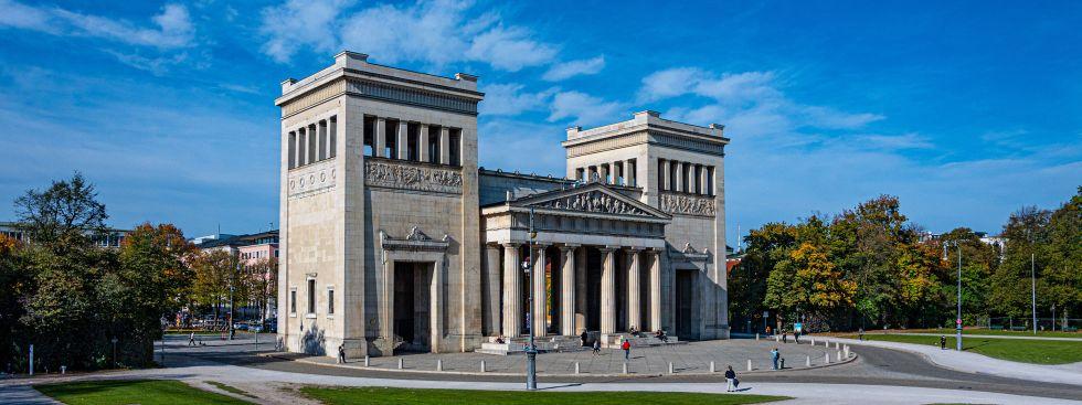 Propyläen am Königsplatz, Foto: muenchen.de/Michael Hofmann
