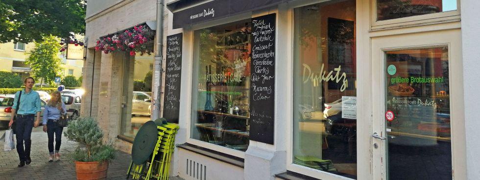 Café Dukatz im Lehel, Foto: muenchen.de/ Leonie Liebich