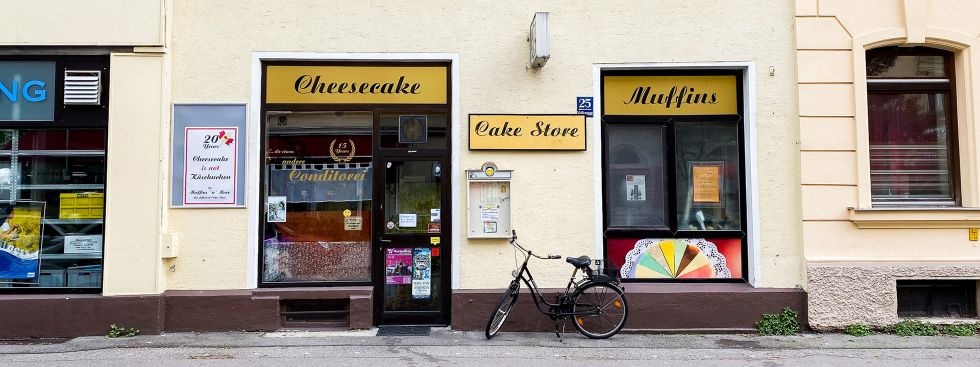 Das Muffins'n'More in München Neuhausen., Foto: Anette Göttlicher