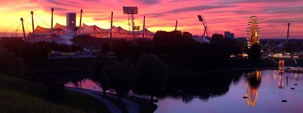 Der Olympiapark in München., Foto: Anette Göttlicher
