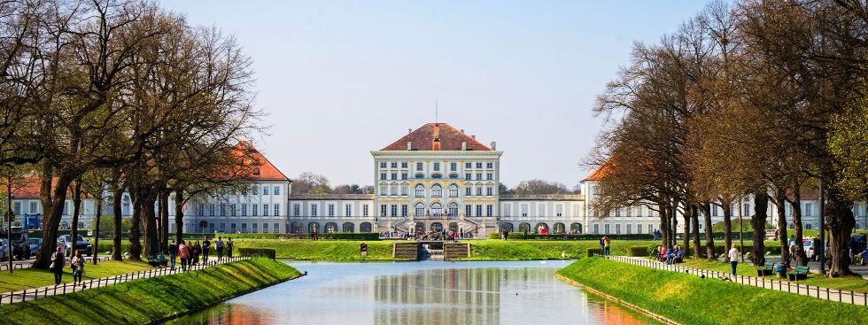 Schloss Nymphenburg im Frühling, Foto: muenchen.de/Lukas Fleischmann