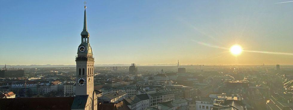 Aussicht vom Rathausturm: Alter Peter, Foto: Sebastian Liebrandt