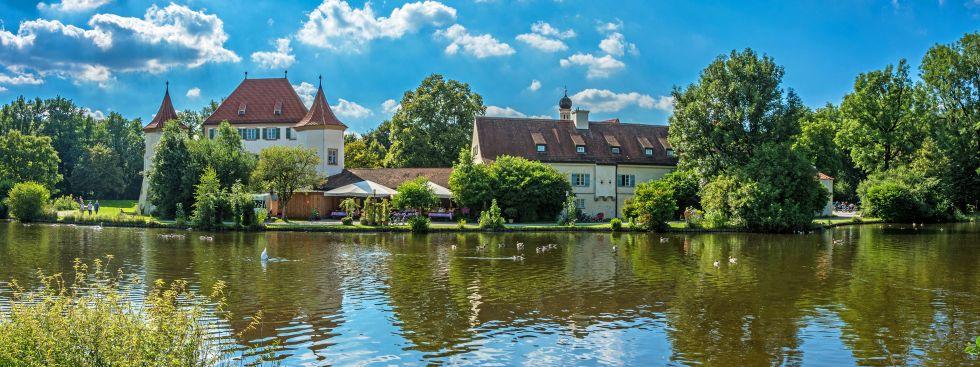 Schloss Blutenburg im Sommer, Foto: muenchen.de/ Michael Hofmann