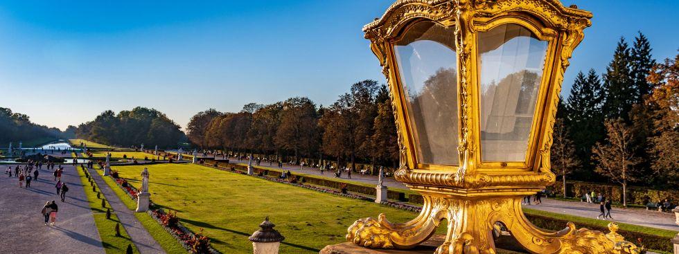 Nymphenburger Schlosspark - aus Schlossperspektive , Foto: muenchen.de/ Michael Hofmann
