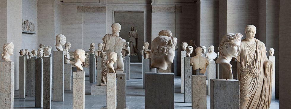 Glypthothek am Königsplatz – Römersaal, Foto: Staatliche Antikensammlungen und Glyptothek München, Renate Kühling