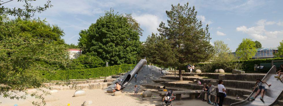 Der Petuelpark im Frühling, Foto: muenchen.de/Katy Spichal