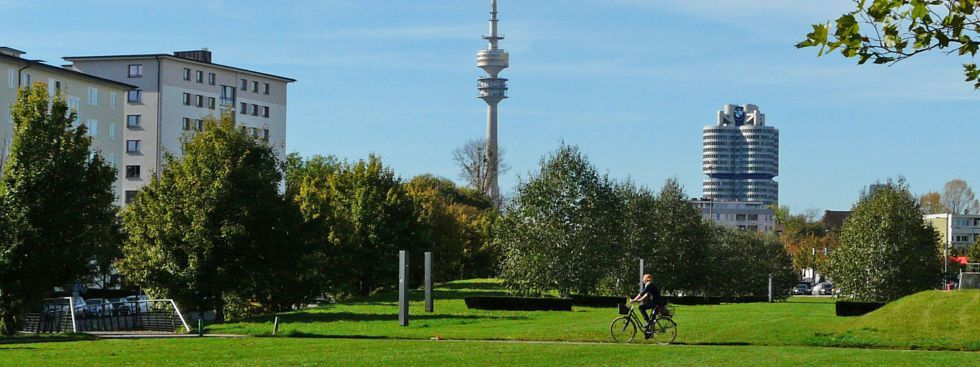 Petuelpark, Foto: muenchen.de/Mark Read