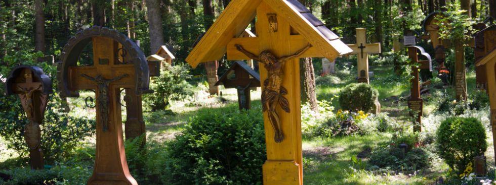 Waldfriedhof Fürstenried - Alter Teil, Foto: Katy Spichal
