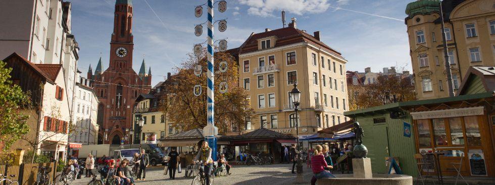 Wiener Platz in München Haidhausen, Foto: Katy Spichal