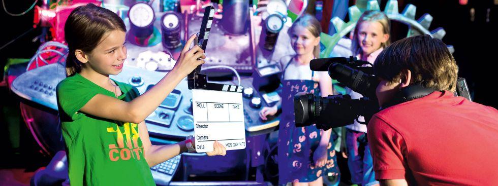 Bavaria Filmstadt Kinder-Workshop, Foto: Bavaria Filmstadt