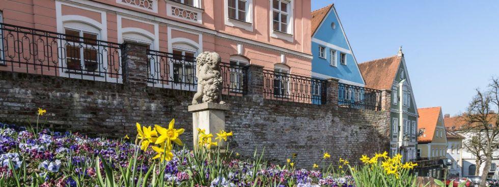Stadt Dachau und Blumen, Foto: Stadt Dachau, Fotograf: Grösslinger