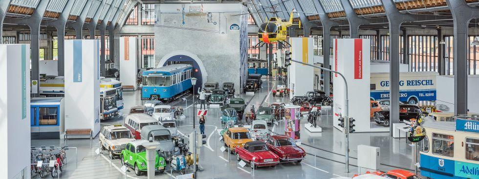 Verkehrszentrum des Deutschen Museums: Haupthalle, Foto: Deutsches Museum