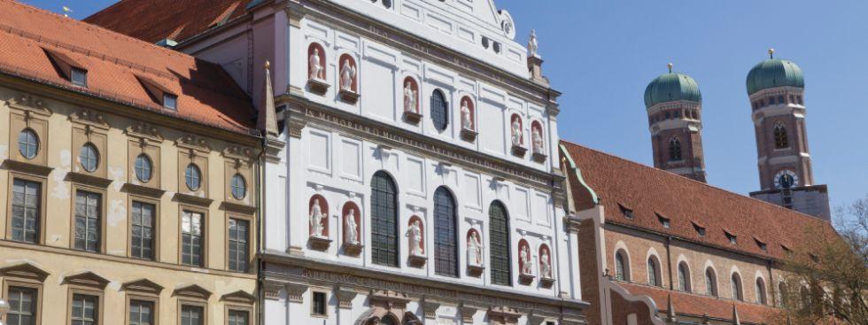 Jesuitenkirche St. Michael, Foto: Katy Spichal