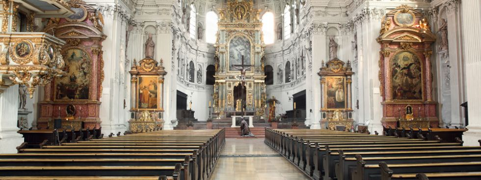 Jesuitenkirche St. Michael, Foto: Sankt Michaelsbund