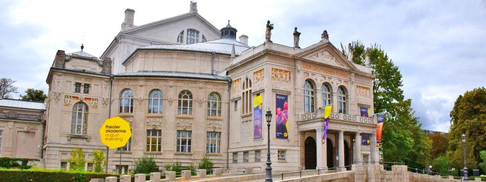 Das Prinzregententheater in Bogenhausen, Foto: muenchen.de/Mark Read
