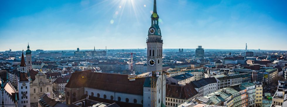 Der Alte Peter vom Rathausturm , Foto: muenchen.de/Michael Hofmann