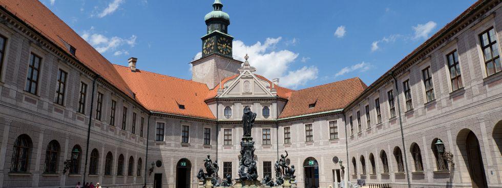 Brunnenhof der Residenz München, Foto: Katy Spichal