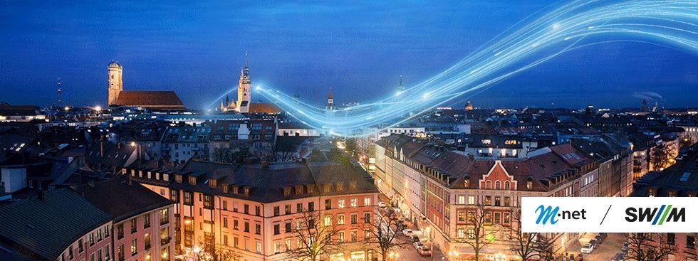 Der Glasfaserausbau von M-net, Foto: M-net