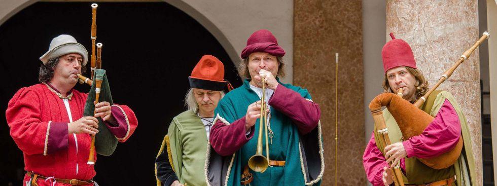 Cinque Bombardi, Foto: Mittelaltermarkt