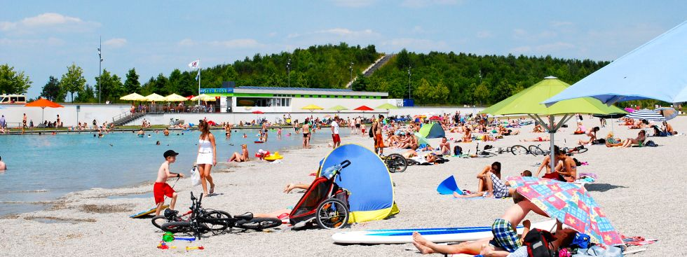 Riemer See, Foto: muenchen.de / Michael Neißendorfer