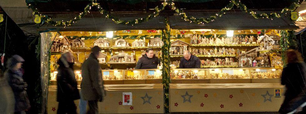 Münchner Christkindlmarkt: Kripperlmarkt, Foto: muenchen.de/ Katy Spichal