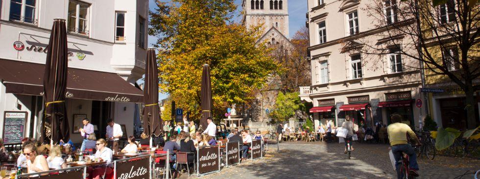 St. Anna Platz im Lehel, Foto: Katy Spichal