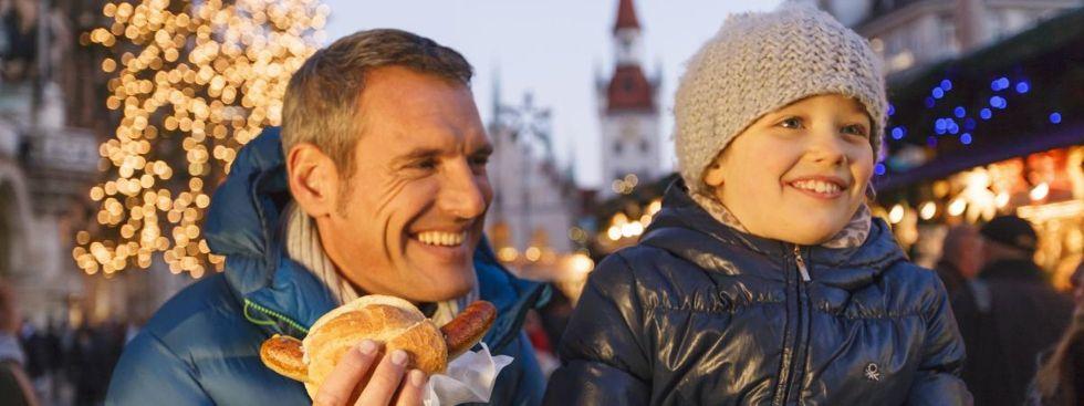 Bratwurst auf dem Christkindlmart , Foto: Christian Kasper