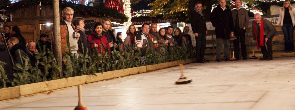 Winterzauber auf dem Viktualienmarkt, Foto: muenchen.de/Katy Spichal