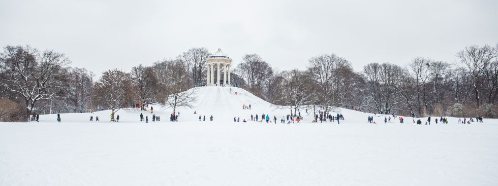 Winter in München, Foto: muenchen.de / Mónica Garduño