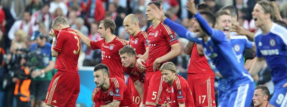 Drama dohoam: Am 19. Mai 2012 verlor der FC Bayern im eigenen Stadion das Champions-League-Finale, Foto: imago images / Eibner
