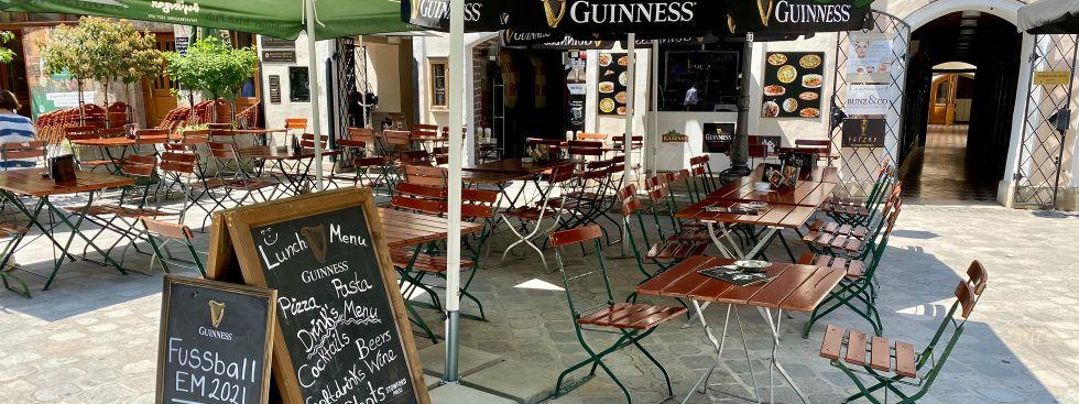 Public Viewing im Dubliner Irish Pub am Platzl, Foto: muenchen.de/Philipp Hartmann