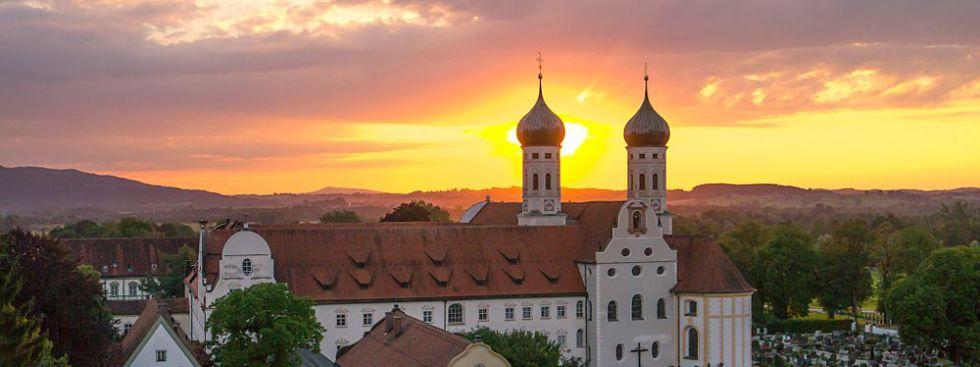 Kloster Benediktbeuern, Foto: Lubiag/Gästeinformation Benediktbeuern