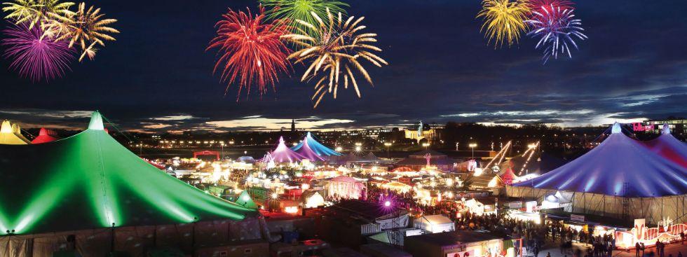 Tollwood-Silvester mit Feuerwerk, Foto: Bernd Wackerbauer