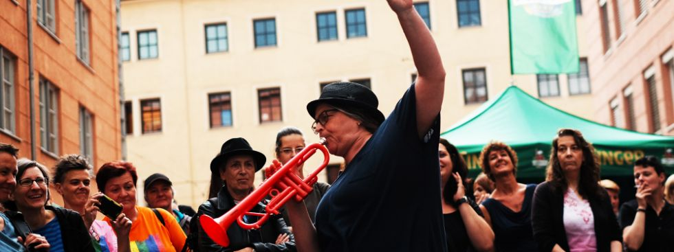 Live-Konzert in der Angertorstraße, Foto: Filippo Steven Ferrara
