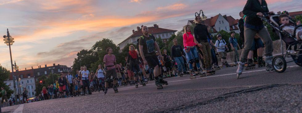 Die AOK-Blade Night am 6.6.2016, Foto: muenchen.de/Lukas Fleischmann