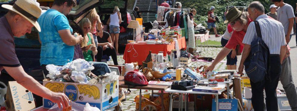 Flohmarkt im Olympiapark, Foto: muenchen.de/Dan Vauelle
