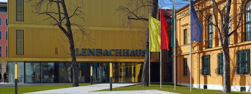 Lenbachhaus von außen, Foto: Städtische Galerie im Lenbachhaus München