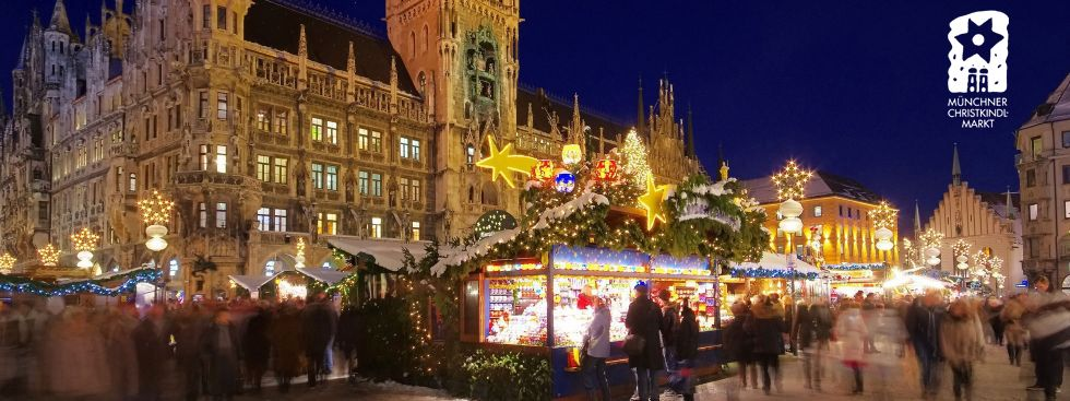 Munich Christmas Market 2021 At Marienplatz