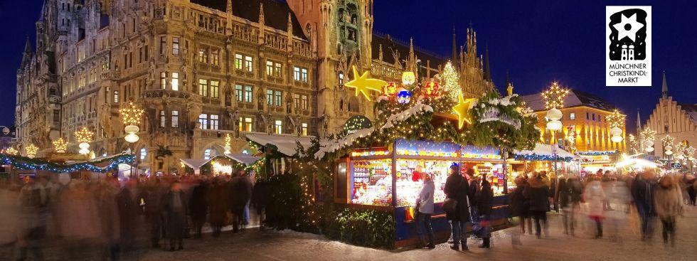 Wann Ist Der Weihnachtsmarkt.Münchner Christkindlmarkt Rund Um Den Marienplatz Das Offizielle