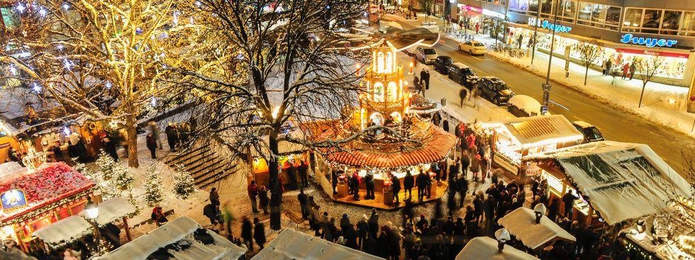 Eindrücke von der weihnachtlichen Münchner Innenstadt, Foto: Lukas Barth
