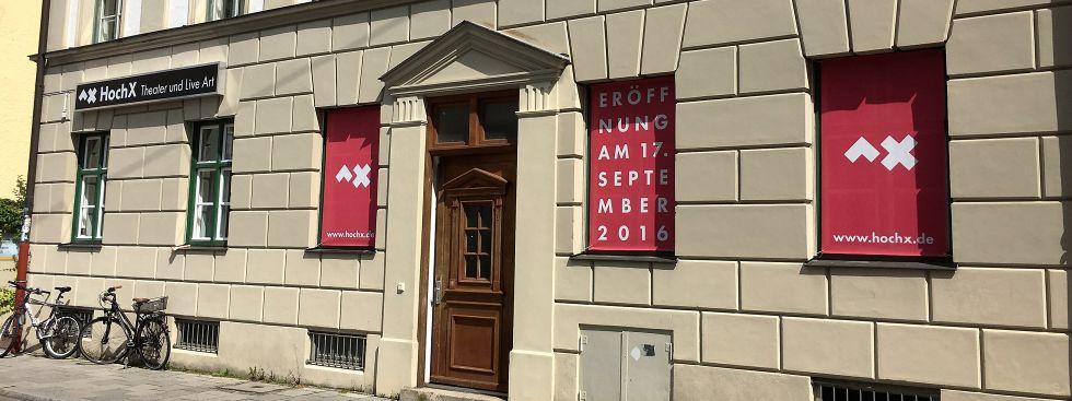 Das Theater HochX von außen., Foto: Theater HochX