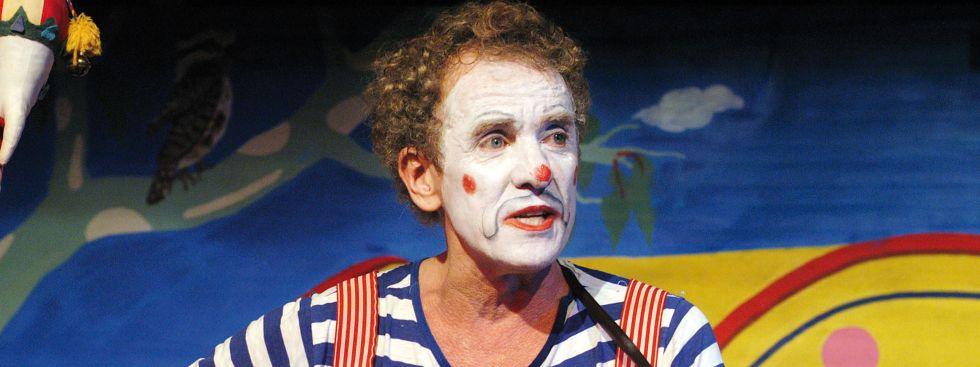 Clown auf dem Tollwood., Foto: Jörg Metzner