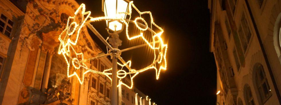 Weihnachtliche Beleuchtung in der Sendlinger Straße, Foto: muenchen.de / Dan Vauelle